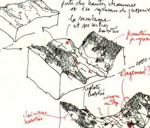 Par Alexis Pernet  Grand Paris, grandes régions et grand paysage : les superlatifs s'offrent en nombre pour appréhender des échelles de projet certes ambitieuses, mais qui échappent aussi par leur taille, la multiplicité des réalités qu'elles recouvrent. Ces changements d'échelle impliquent des outils nouveaux, aident à réarticuler un faisceau d'interventions sur l'espace.