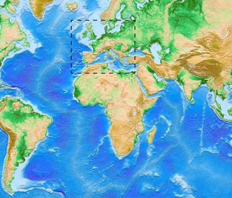 Les transitions océan-continent