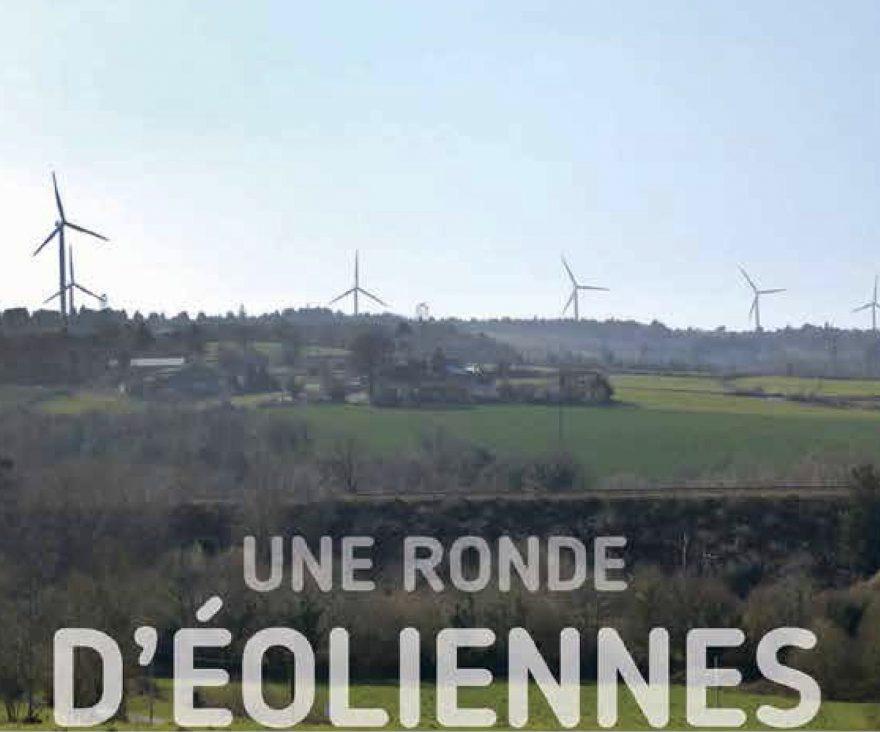 Image principale de Une ronde d'éolienne, schéma éolien du Pays du Porzay et de Châteaulin