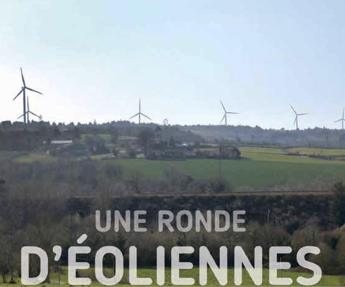 Une ronde d'éolienne, schéma éolien du Pays du Porzay et de Châteaulin